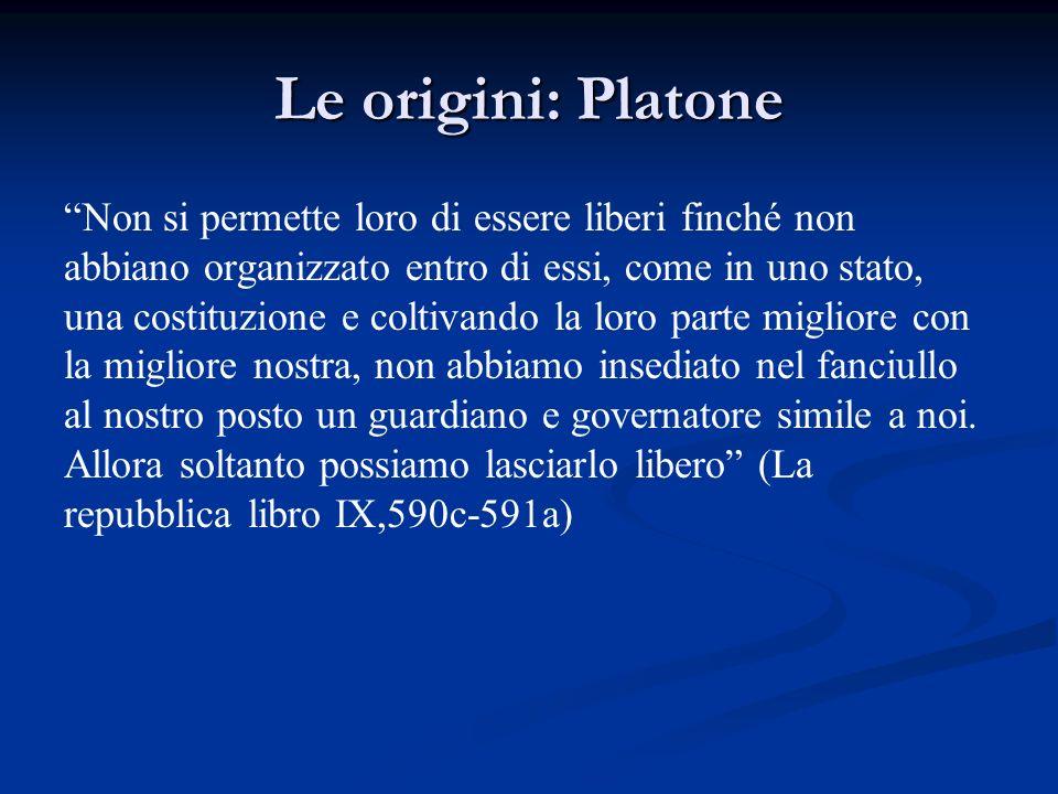 Le origini: Platone