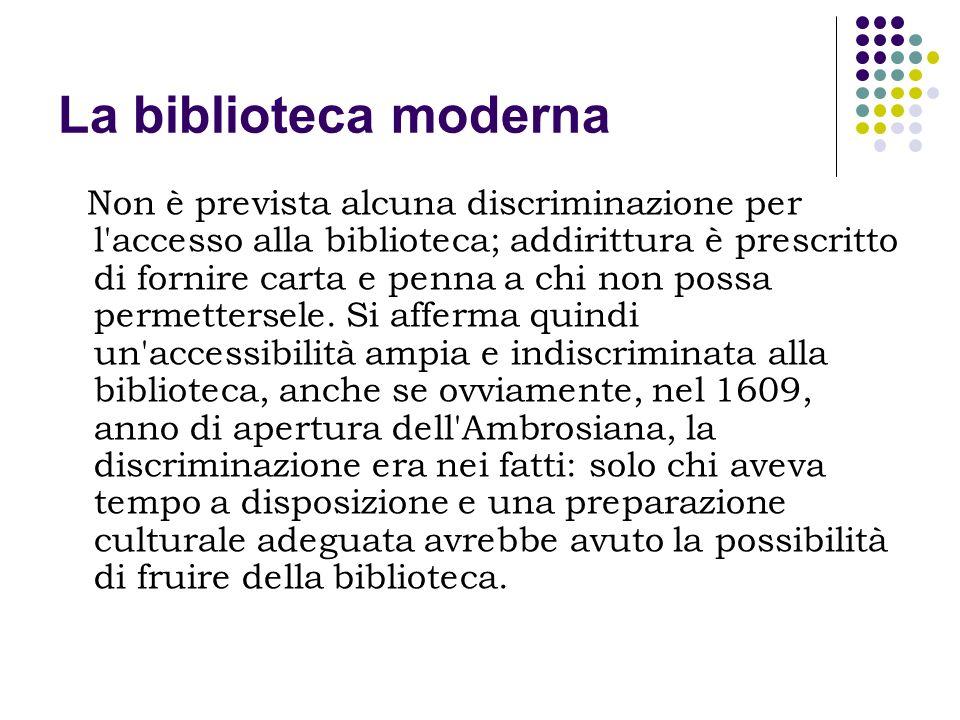 La biblioteca moderna