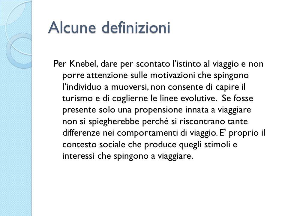 Alcune definizioni
