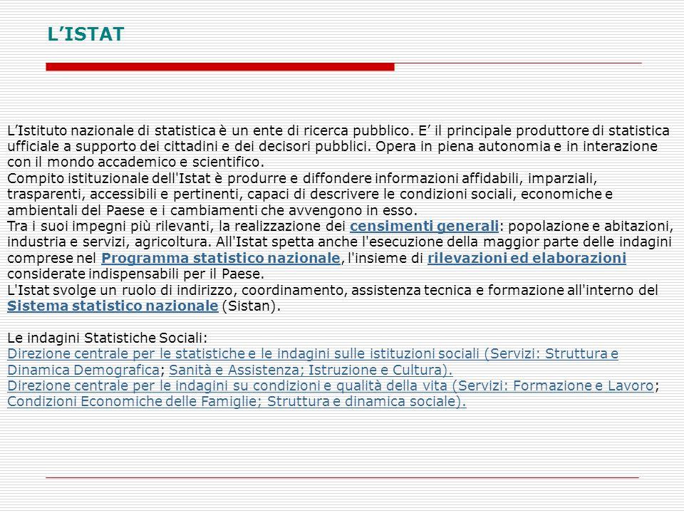 L'ISTAT
