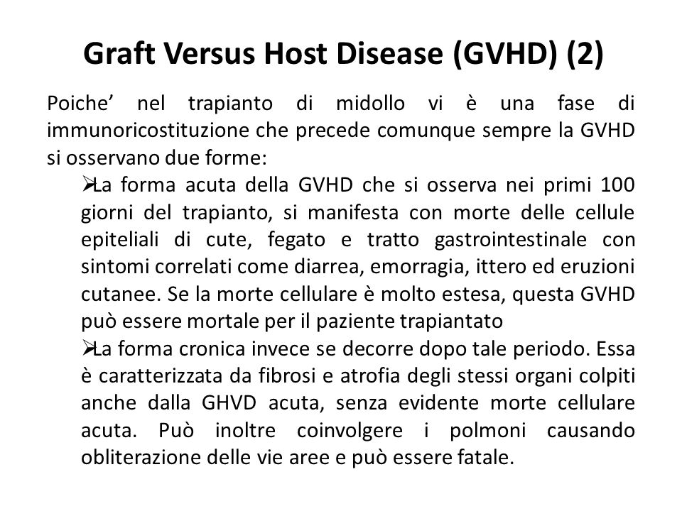 Graft Versus Host Disease (GVHD) (2)