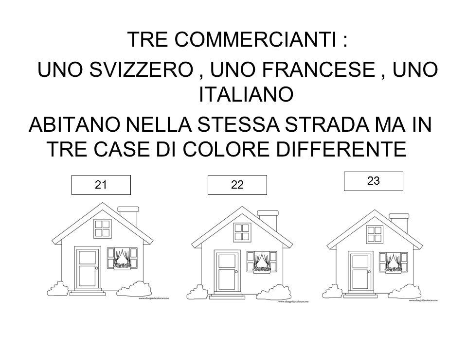 UNO SVIZZERO , UNO FRANCESE , UNO ITALIANO