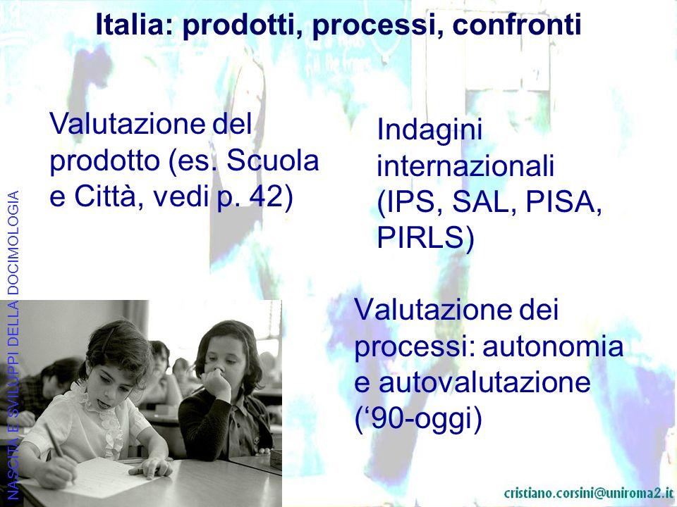 Italia: prodotti, processi, confronti