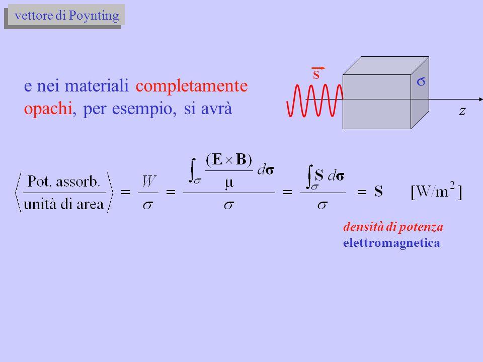 densità di potenza elettromagnetica