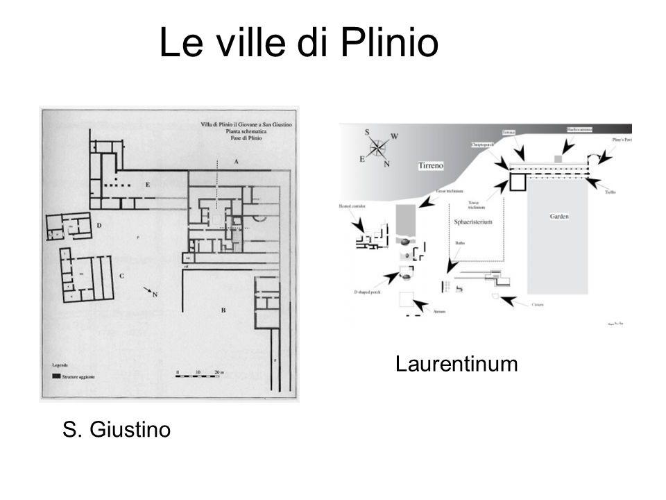 Le ville di Plinio Laurentinum S. Giustino