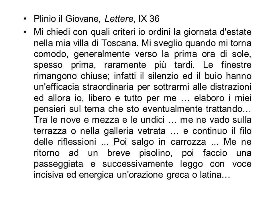 Plinio il Giovane, Lettere, IX 36