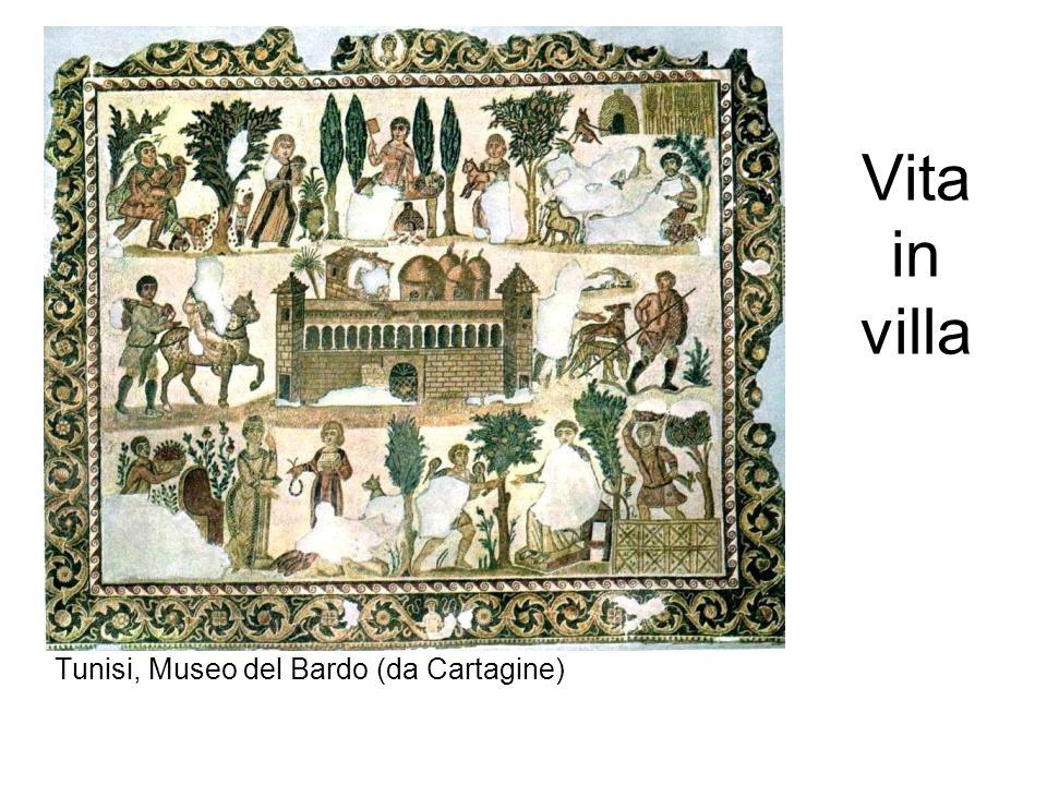 Vita in villa Tunisi, Museo del Bardo (da Cartagine)