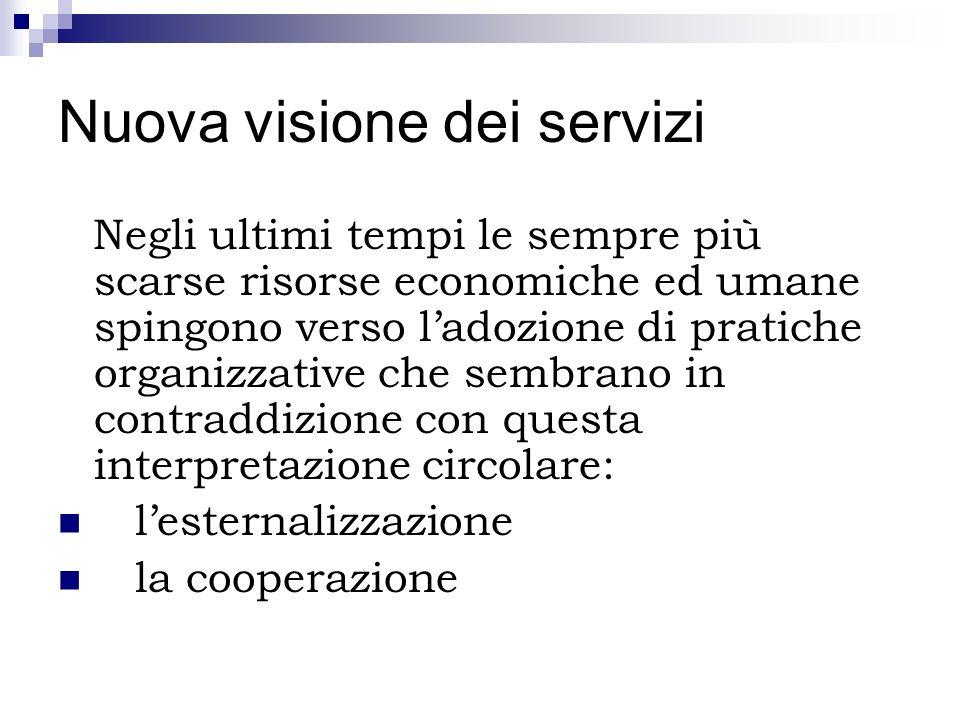 Nuova visione dei servizi
