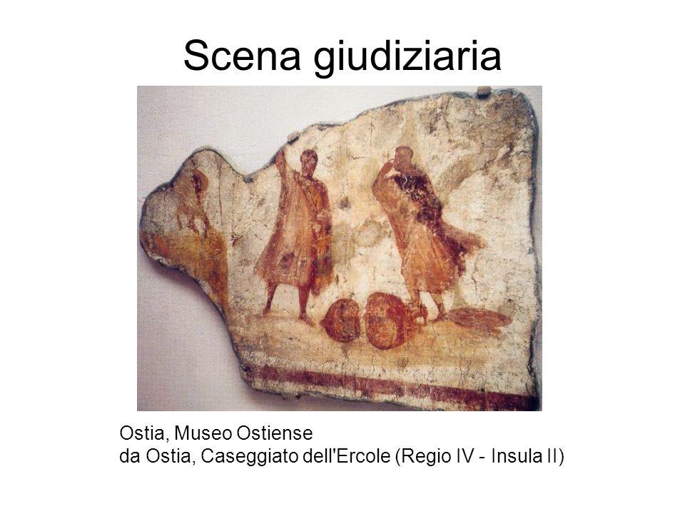 Scena giudiziaria Ostia, Museo Ostiense