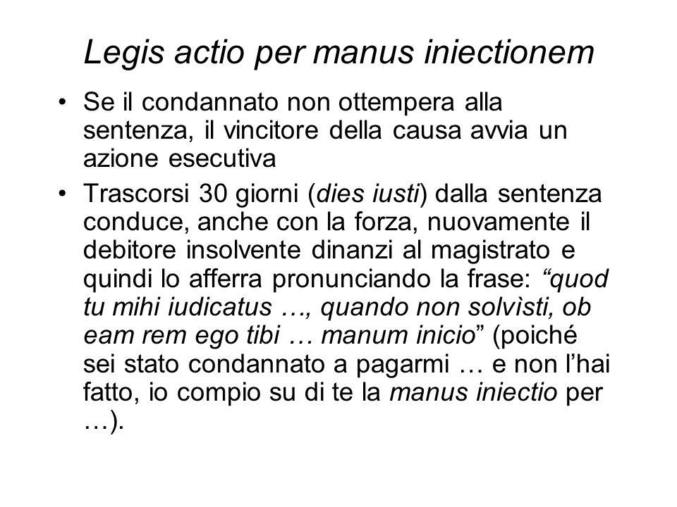 Legis actio per manus iniectionem