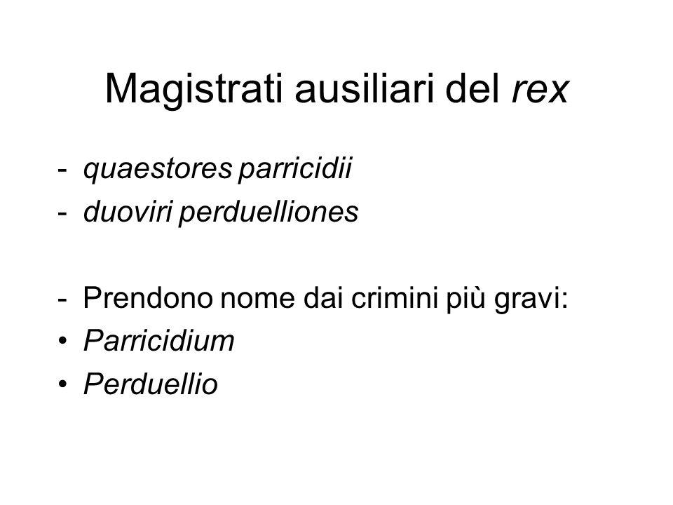 Magistrati ausiliari del rex