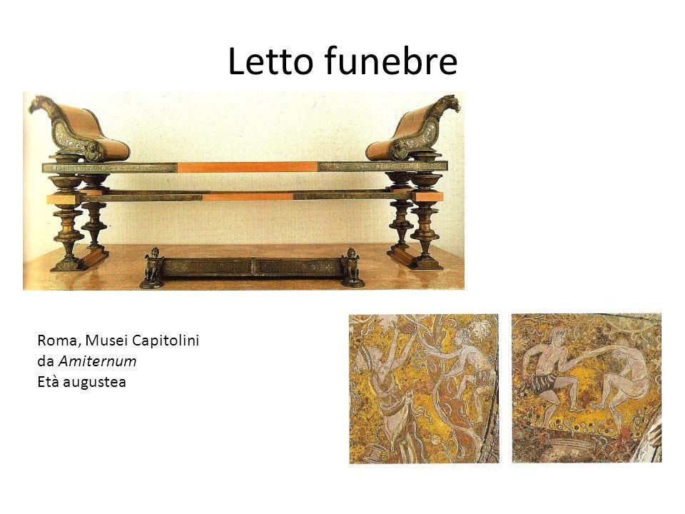 Letto funebre Roma, Musei Capitolini da Amiternum Età augustea