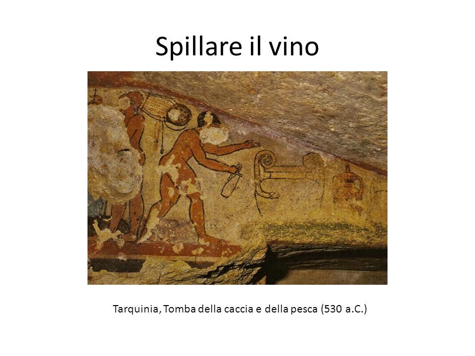 Tarquinia, Tomba della caccia e della pesca (530 a.C.)
