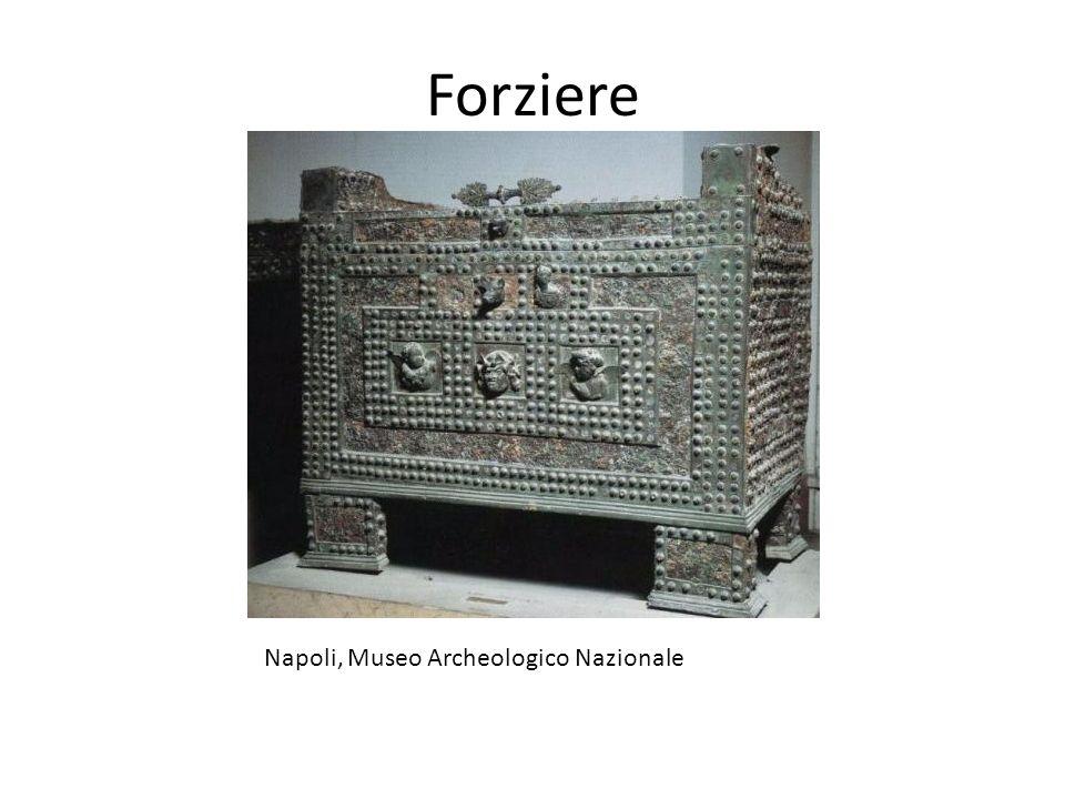 Forziere Napoli, Museo Archeologico Nazionale