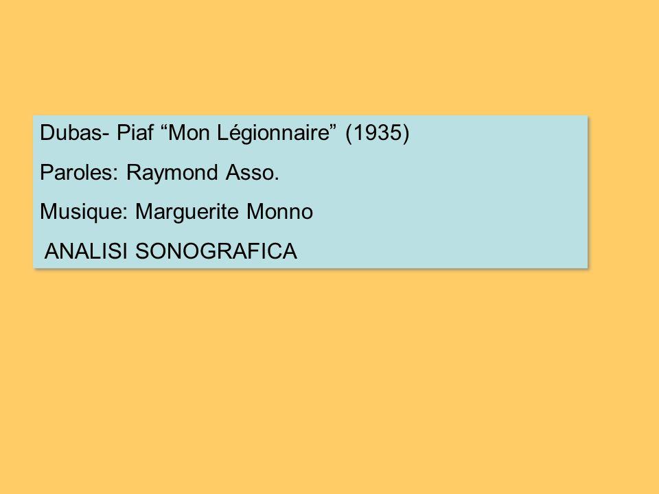 Dubas- Piaf Mon Légionnaire (1935)