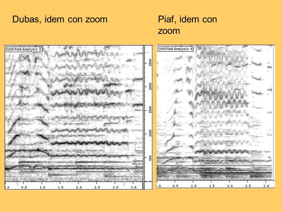 Dubas, idem con zoom Piaf, idem con zoom