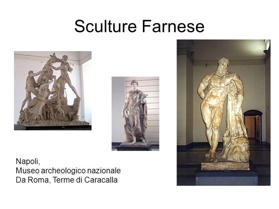 Sculture Farnese Napoli, Museo archeologico nazionale