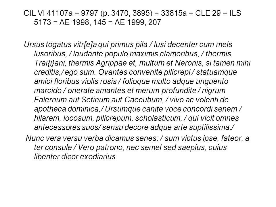 CIL VI 41107a = 9797 (p.