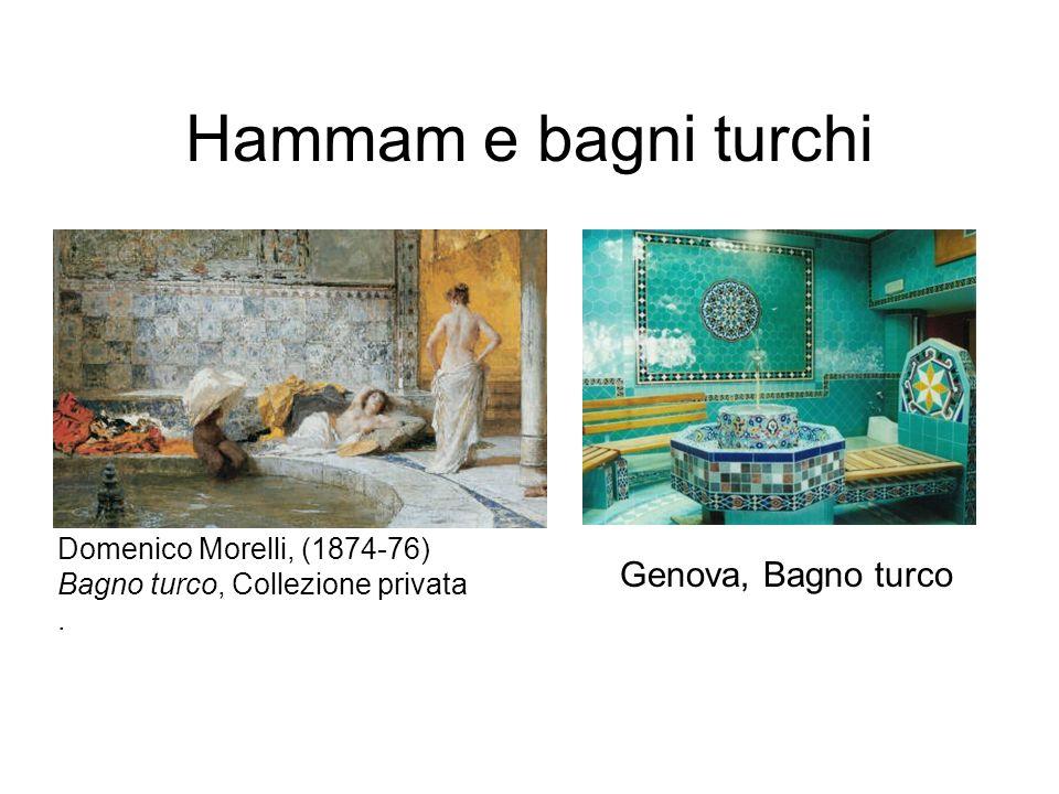 Hammam e bagni turchi Genova, Bagno turco