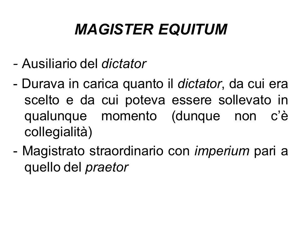 - Ausiliario del dictator