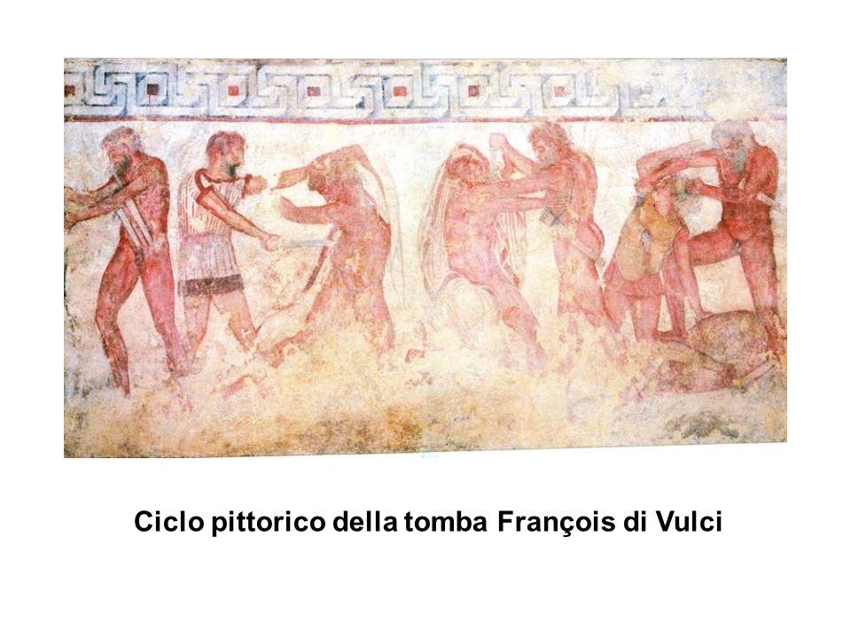 Ciclo pittorico della tomba François di Vulci