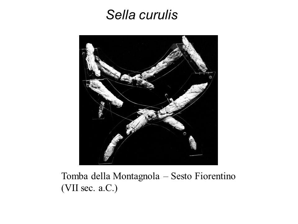 Sella curulis Tomba della Montagnola – Sesto Fiorentino