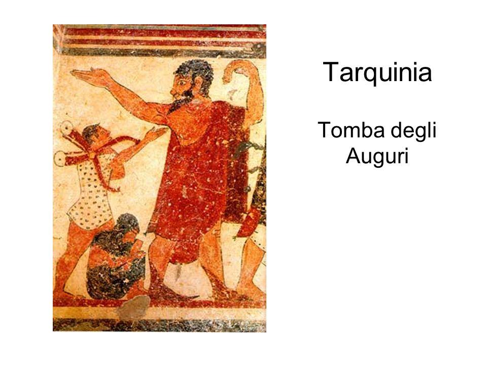 Tarquinia Tomba degli Auguri