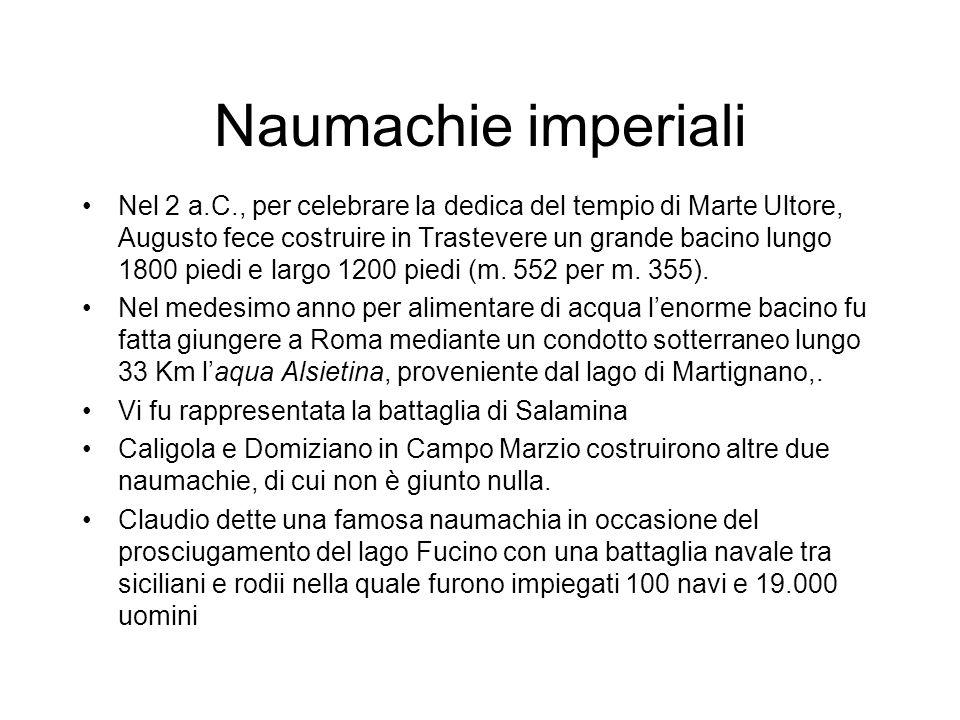 Naumachie imperiali