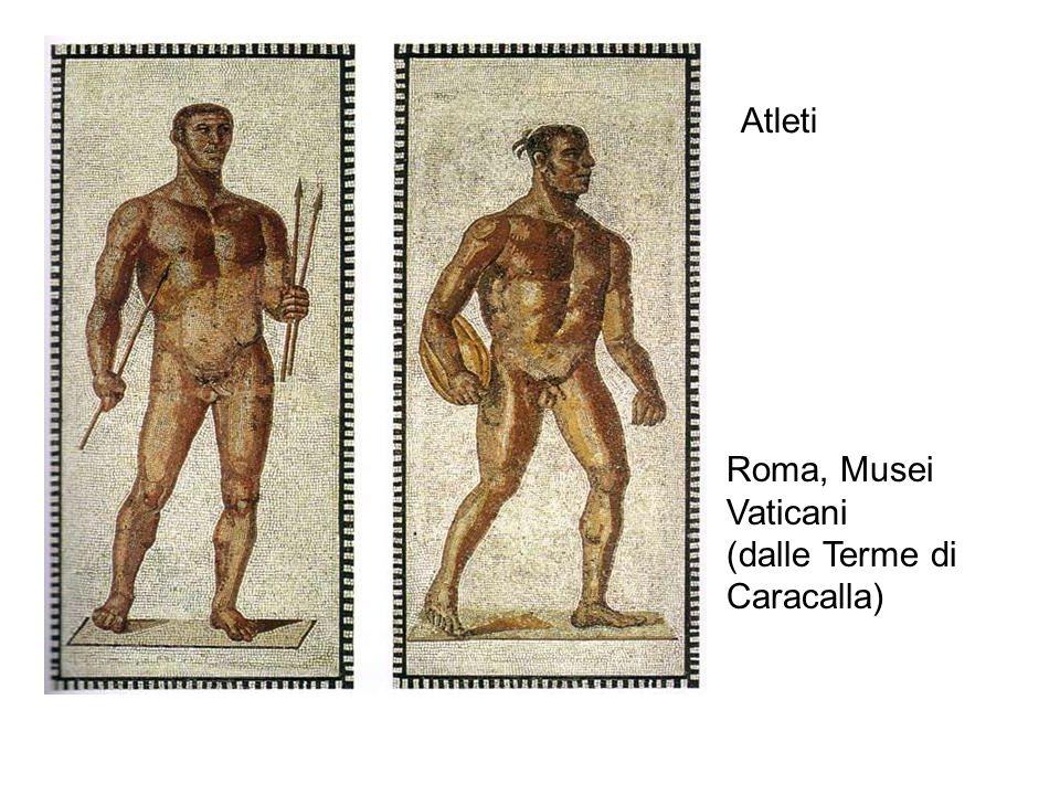 Atleti Roma, Musei Vaticani (dalle Terme di Caracalla)