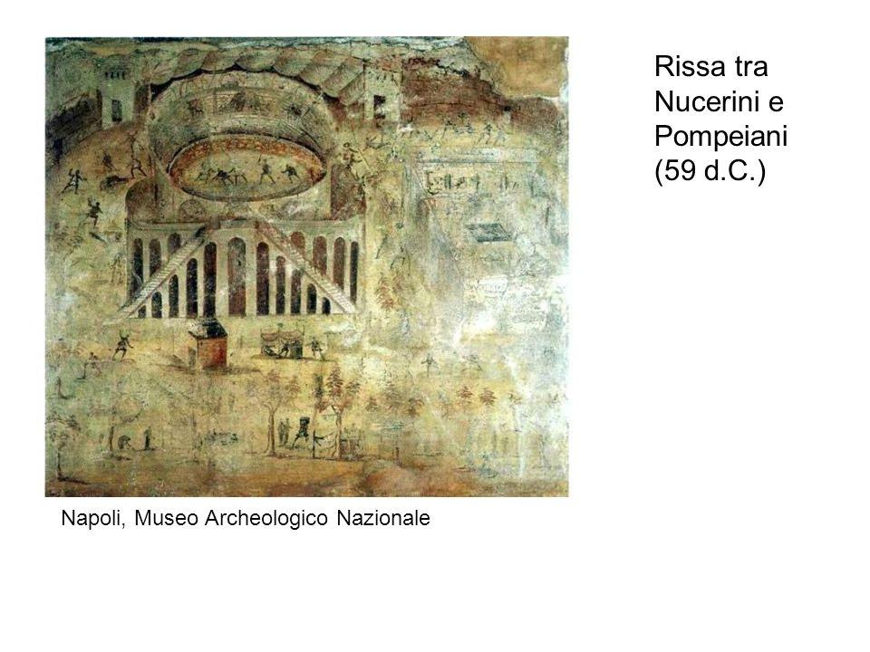 Rissa tra Nucerini e Pompeiani (59 d.C.)