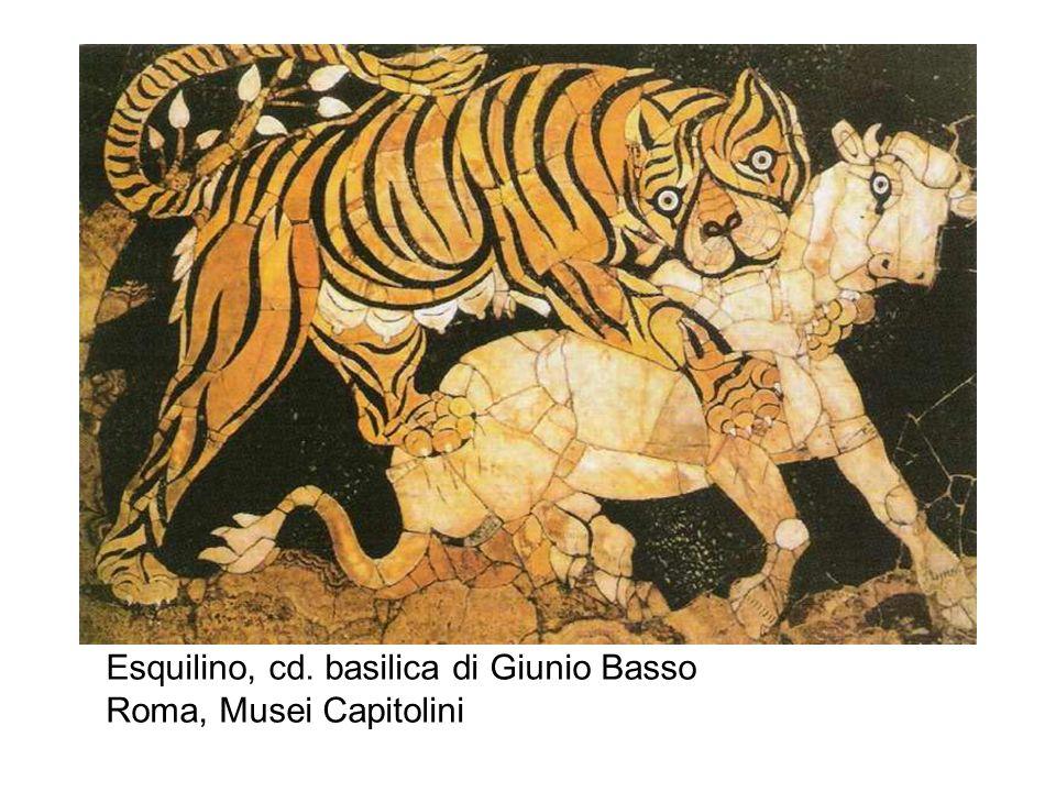 Esquilino, cd. basilica di Giunio Basso