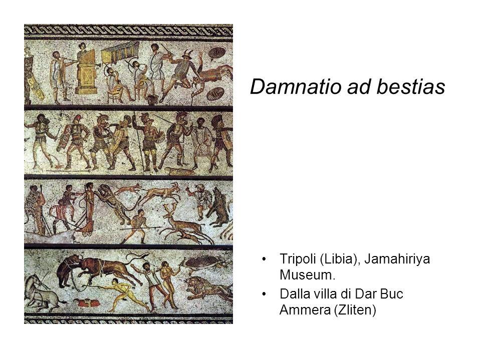 Damnatio ad bestias Tripoli (Libia), Jamahiriya Museum.