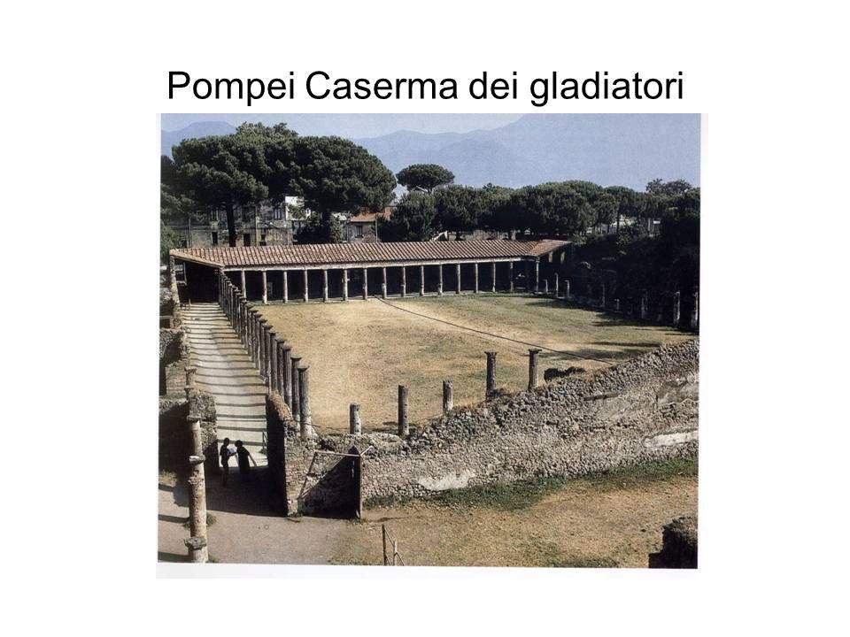 Pompei Caserma dei gladiatori