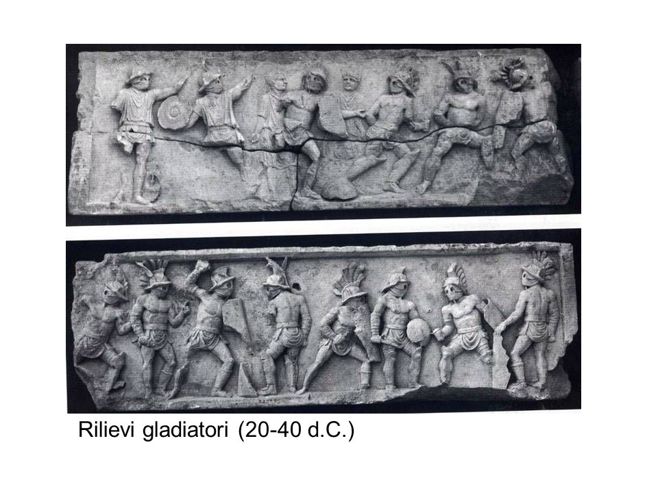 Rilievi gladiatori (20-40 d.C.)