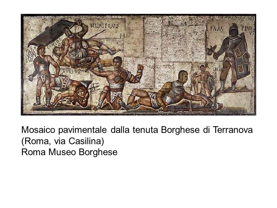 Mosaico pavimentale dalla tenuta Borghese di Terranova (Roma, via Casilina)