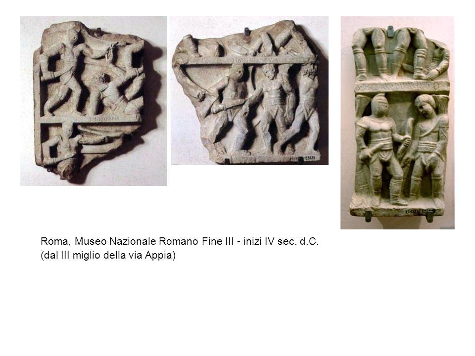 Roma, Museo Nazionale Romano Fine III - inizi IV sec. d.C.