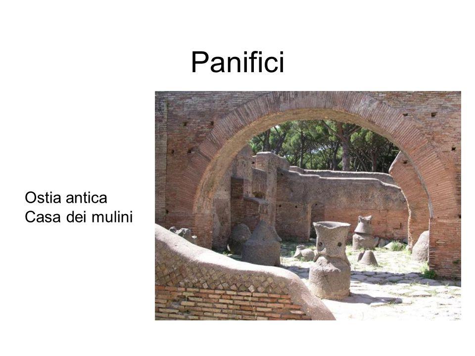 Panifici Ostia antica Casa dei mulini