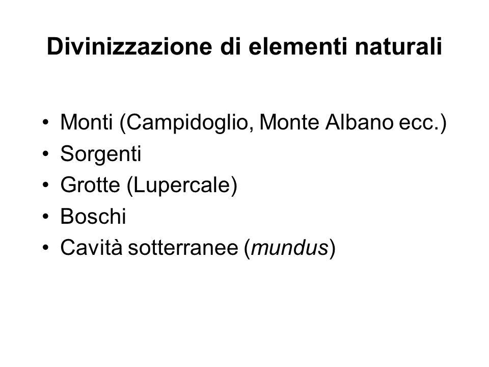 Divinizzazione di elementi naturali