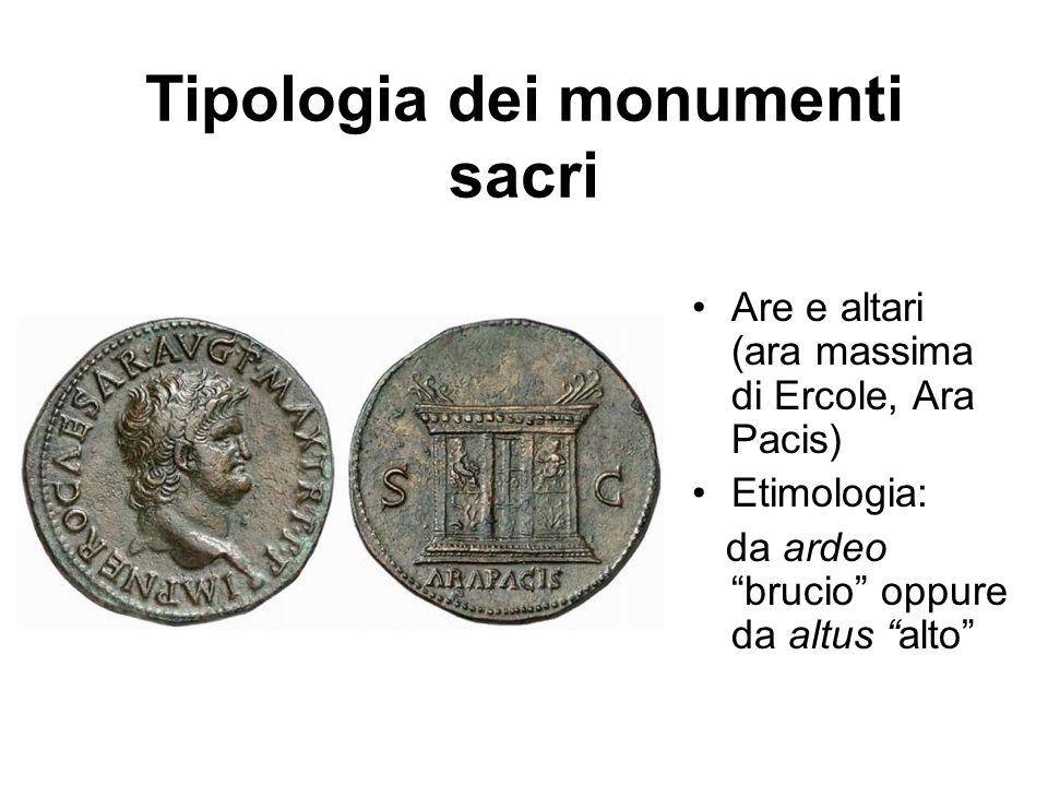 Tipologia dei monumenti sacri