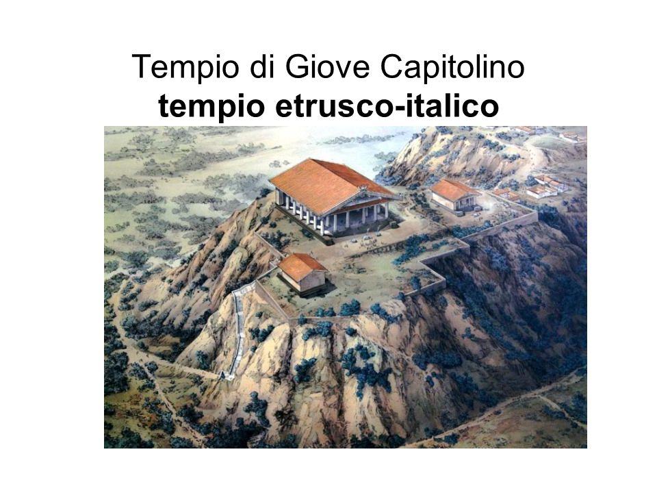 Tempio di Giove Capitolino tempio etrusco-italico