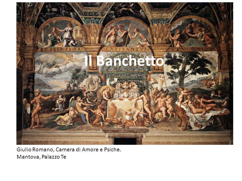 Il Banchetto Giulio Romano, Camera di Amore e Psiche.