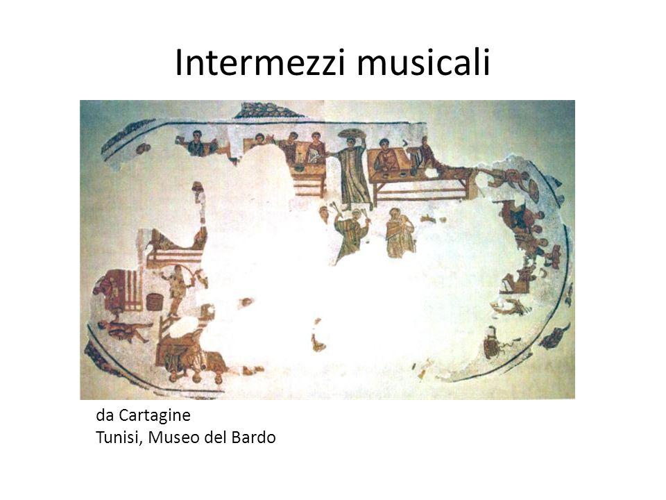 Intermezzi musicali da Cartagine Tunisi, Museo del Bardo