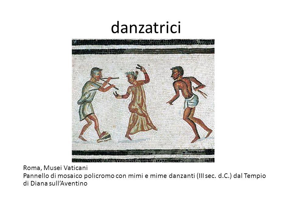 danzatrici Roma, Musei Vaticani