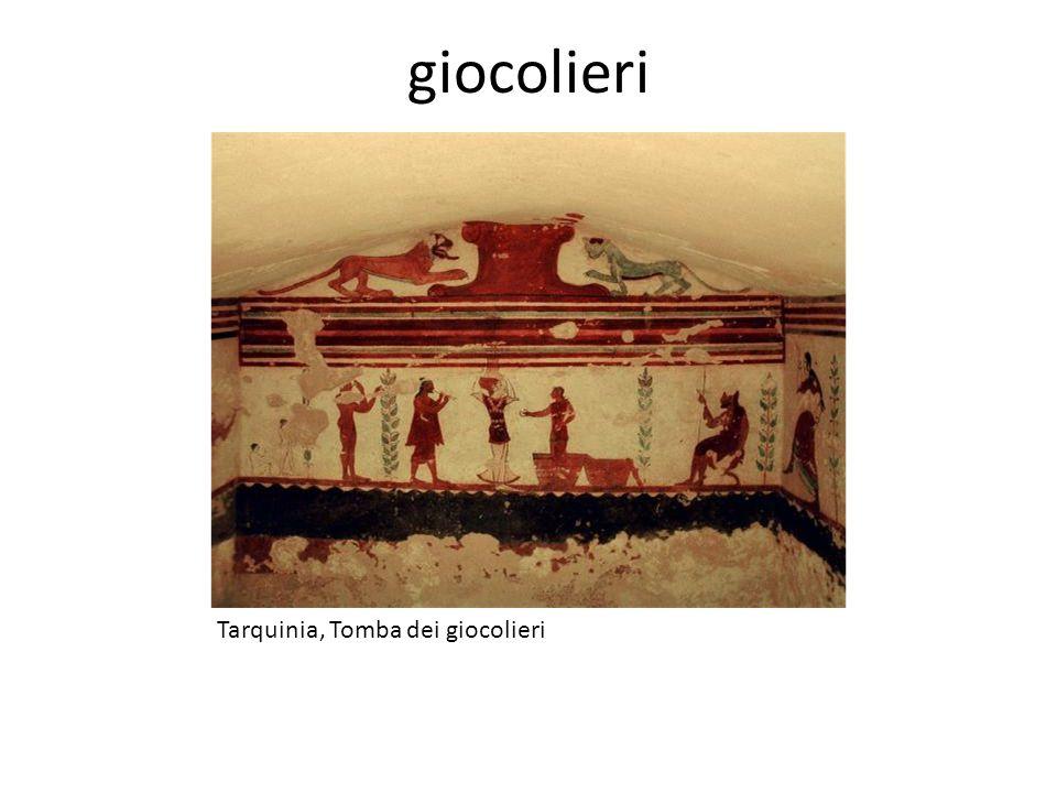 giocolieri Tarquinia, Tomba dei giocolieri