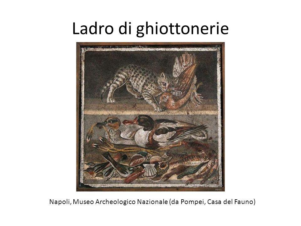Napoli, Museo Archeologico Nazionale (da Pompei, Casa del Fauno)