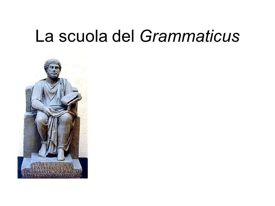 La scuola del Grammaticus