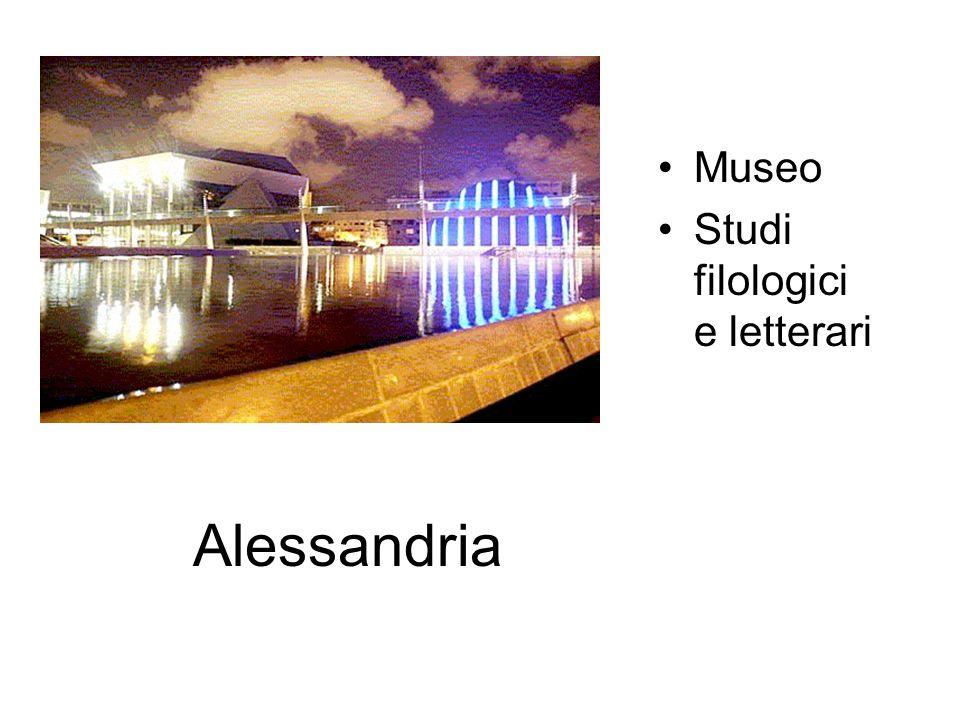 Museo Studi filologici e letterari Alessandria