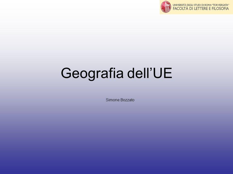 Geografia dell'UE Simone Bozzato