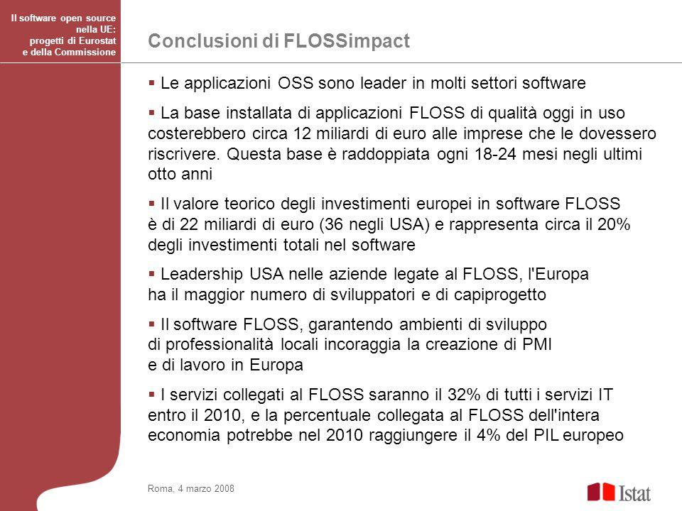 Conclusioni di FLOSSimpact