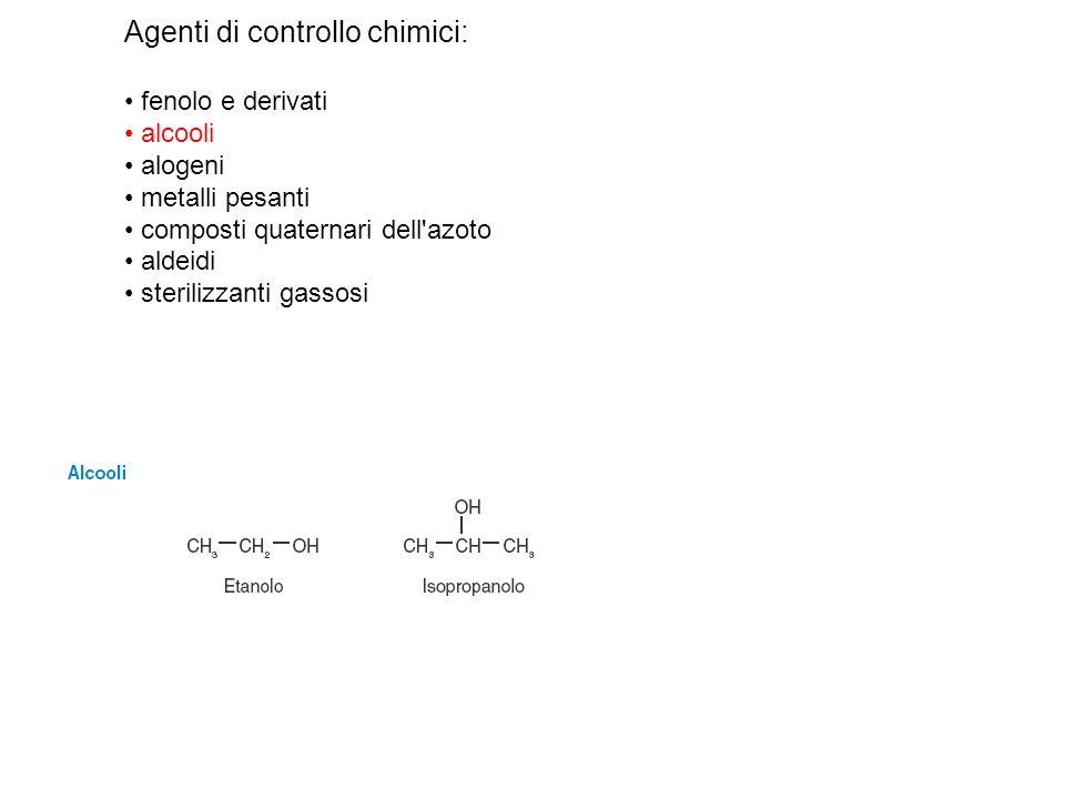 Agenti di controllo chimici: